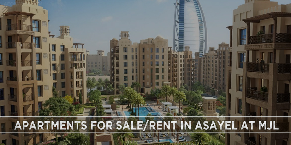 Apartments for Sale Rent in Asayel At MJL