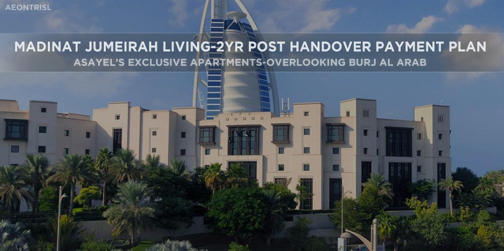 Madinat Jumeirah Living-2yr Post Handover Payment Plan